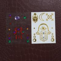 Wholesale Temporary Henna Design Rhinestone Tattoo Stickers , Face Jewels And Rhinestones from china suppliers