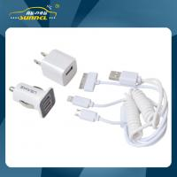 Wholesale CE Approval Car Power Charger Kit , Home and Car Multiple Use USB Charger from china suppliers