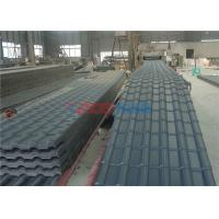 Wholesale Waterproof Glazed Tile Roll Forming Machine For Roof Panel 0.3 ~ 3m / Min from china suppliers