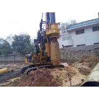 Wholesale Small Hydraulic Piling Rig KR60C for Drilling 24m Depth Foundation Pile CE / ISO9001 from china suppliers
