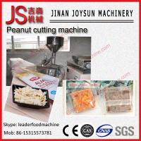 Wholesale Quadrate Adjustable Peanut Cutting Machine Slicer 300W from china suppliers