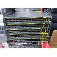 Buy cheap 48 Port Used Cisco Network Equipment Switch Cisco Catalyst 2960 4 T/SFP LAN Base Image WS-C2960G-48TC-L from wholesalers