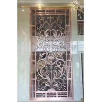Wholesale CNC Laser Cutting Perforated Aluminum Screen Decorative Metal Manufacturer In China from china suppliers