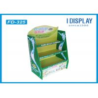 Wholesale Eco - Friendly Cardboard Pallet Retail Display Stands Single Sided For Baby Diapers from china suppliers