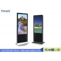 Wholesale Android 5.0 Ultra Thin Digital Advertising Displays / LCD Advertising Display One Year Warranty from china suppliers