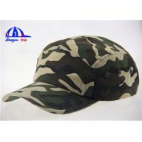 Wholesale Camo Baseball Caps With Metal Buckle Back Closure from china suppliers