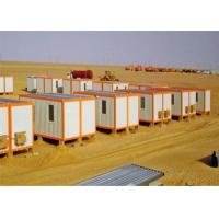 Wholesale Sandwich Panel Flat Pack Conex Box Prefab Container Homes with Bathroom from china suppliers