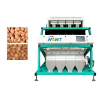 China Grains Glasses Front Rear Dual Infrared Ray Light Sorting Machine on sale