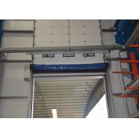 Wholesale Anti collision PVC curtain soft edge High Speed Rolling Door industrial use from china suppliers