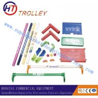 Quality Plastic Accessories Shopping Trolley Spare Parts With Logo Printed for sale