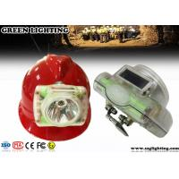 Wholesale OLED Screen Cordless Led Mining Cap Lamp, IP68 1W 6000 Lux Mining Hard Hat Lights from china suppliers