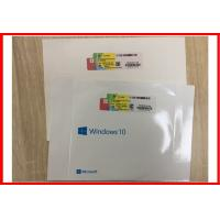 Wholesale Genuine Windows 10 Professional 64bit DVD , Win10 Pro COA Key Code Online Activation from china suppliers