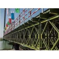 Wholesale Temporary Steel Bridge Painted / Hot Dip Galvanized Prefabricated Foot Bridge from china suppliers
