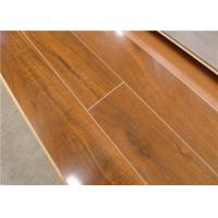 Wholesale Walnut Waterproof Laminate Flooring Waterproof for Bathroom V Groove from china suppliers