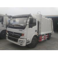 Wholesale 2017s new best price Dongfeng 4*2 compression garbage truck, factory sale dongfeng 6cbm compactor garbage truck from china suppliers