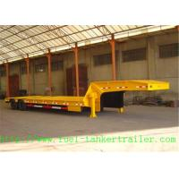 Buy cheap OEM 3 - axle 	Low Bed Semi Trailer equipment for Transport excavator from wholesalers