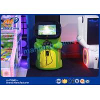 Wholesale Green Virtual Reality Equipment Electric  Kids Vr Coin Game Machine from china suppliers