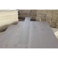 Wholesale BCD grade 190mm wide smoked white  Russian oak timber flooring from china suppliers