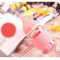 Wholesale Pink Heat Resistance Borosilicate Glass Feeding Bottle For Baby Daily Drinking from china suppliers