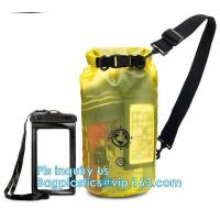 China waterproof dry bag with shoulder straps outdoor backpack water-resistant dry bag, Game Sportpack Plastic Drawstring Back on sale