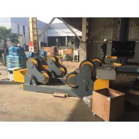 Wholesale Rubber Wheels Self-Aligned Welding Rotator Pipe Stand Roller Drive By 4kw Motor Power from china suppliers