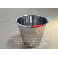Wholesale Stainless Steel Milk Bucket For Liquid Transporting , Steel Milk Pail from china suppliers