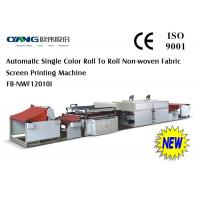 Wholesale Fabric Non Woven Screen Printing Machine , Bags Label Printing Machinery from china suppliers