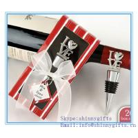 Wholesale PERSONALIZED EXPRESSIONS COLLECTION WINE BOTTLE STOPPER FAVORS from china suppliers