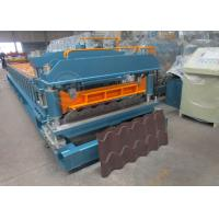 Wholesale Cr12 Mould Steel Cutter Roof Tile Roll Forming Machine 5.5KW ISO9001 from china suppliers