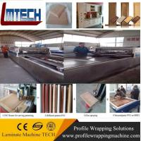 Wholesale China Low price PVC kitchen cabinet door vacuum membrane press machine from china suppliers