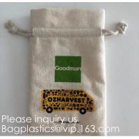Wholesale Reinforced Stitching & Easy Closure Cotton Drawstring Pouches | Perfect for Party Favors & Gifts,Thank You Gifts promoti from china suppliers