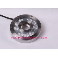 Quality 316SS LED Underwater Fountain Lights Waterproof IP68 6W 9W RGB Color Changing for sale