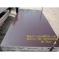 Wholesale Poplar / Hardwood Or Combined Core Film Face Plywood With Brown Film from china suppliers