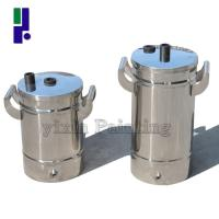 Wholesale Small Stainless Steel Powder Barrels from china suppliers
