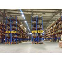 Wholesale Adjustable Industrial Steel Storage Racks , Double Deep Pallet Racking from china suppliers