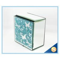 Wholesale Butterfly Design Mirror Glass Jewelry Box Wedding Favor Collective from china suppliers