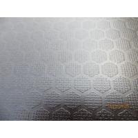 Buy cheap KINGPLUS BRAND FILM FACED PLYWOOD, ONE SIDE ANTI SLIP (HEXAGONAL PATTERN DESIGN), WBP PHE from wholesalers