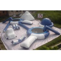 Wholesale Inflatable Floating Water Park With Inflatable Iceberg And Water Slides For Lake from china suppliers