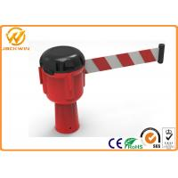Wholesale 9 meters Retractable Belt Traffic Cone Topper , Road Construction Safety Cones from china suppliers