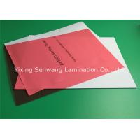 Wholesale Red Plastic A4 Binding Covers Book Binding Hardcover 6 Mil No Scratch from china suppliers