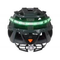 Buy cheap Cool Bicycle Helmet With Built In Lights , Open Mould Light Up Safety Helmet from wholesalers