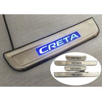 Wholesale Durable LED Blue Light Side Door Scuff Plate For Hyundai IX25 CRETA 2014 2015 from china suppliers