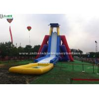 Wholesale Giant Adults Hippo Commercial Inflatable Water Slides With Pool For Water Parks from china suppliers
