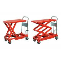 Wholesale Orange Stationary Manual Hydraulic Lift 5000 * 2500 mm For Metal Industry from china suppliers