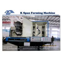 Wholesale Moveable Model K-Span Roll Former Machine For 0.8-1.5MM Thickness PPGI GI Color Steel from china suppliers
