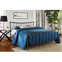 Quality Adult Twin Solid Full Size Metal Beds , School Natural Wrought Iron Beds for sale