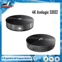 Wholesale Android 4.4 KitKat amlogic S802 quad core tv box from china suppliers