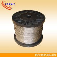 Wholesale 19 Strands Nicr Alloy / Nicr 8020 Heat Resistant Wire For Pink Ceramic Pad Heater Assemblies from china suppliers