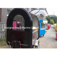 Wholesale Fiberglass Concession Trailers Mobile Food Vehicles Hot Dog Carts Catering Tucks Equipments from china suppliers
