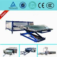 Wholesale EVA Curved Laminated Glass Machine , Industrial Laminating Machine Autoclave Free from china suppliers
